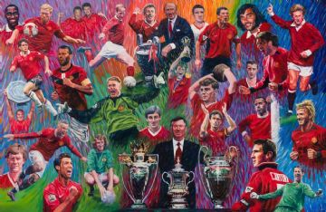Manchester United Legends Print